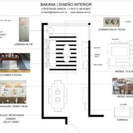 Bakana - interiores, decoración